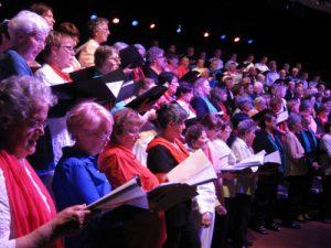 Les chants commun des quatre chorales