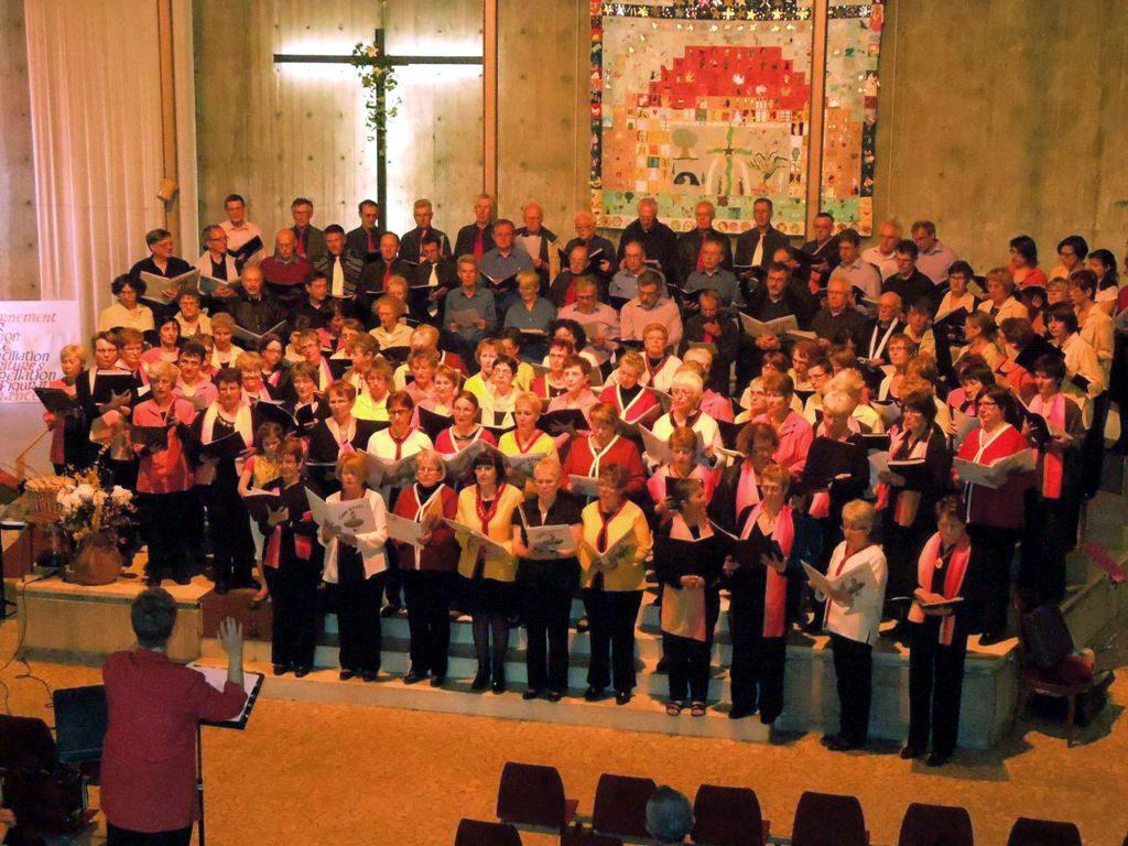 Concert avec les chorales Chante Fontaine et Chant d'Éole