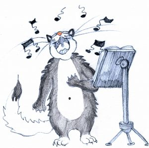 chat-tenor de la chorale