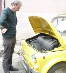 Fiat 500 de la chorale
